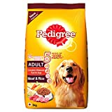 #8: Pedigree Adult Dog Food, Meat and Rice, 3 kg Pack