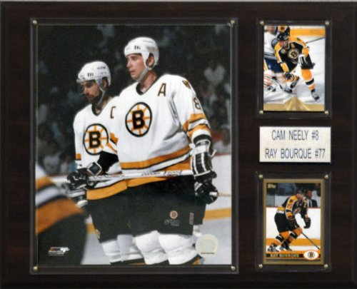 C & I Collectables NHL Neely-Bourque Boston Bruins Spieler Plaque