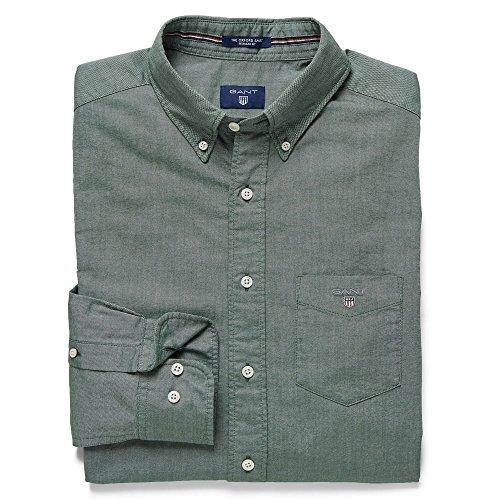 Gant The Oxford Shirt Ls Bd - Regular - Homme Pine Green