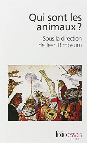 Qui sont les animaux? par Frédéric Boyer