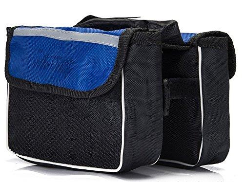 XY&GKFahrradschlauch Tasche Mountainbike Sattel Tasche Tasche Auto vorne Strahl Strahl, ein Auto Gepäck Tasche Tasche, machen Ihre Reise angenehmer Trumpet blue