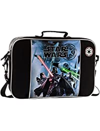Star Wars Cartera, Color Negro, 7.45 Litros