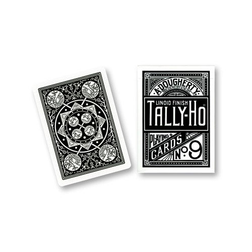 carte-tally-ho-fan-back-black