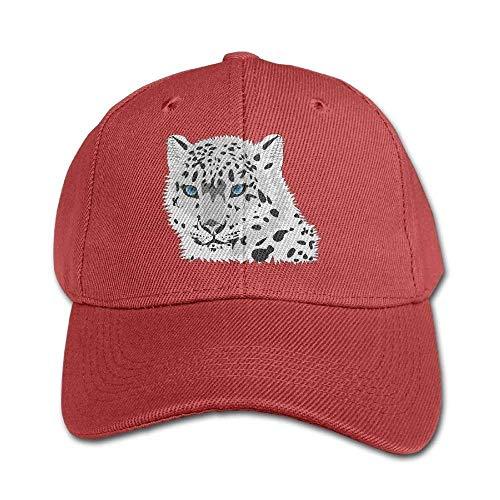 Wfispiy Tiere Tiger Snow Reine Farbe Baseballmütze Baumwolle Einstellbare Kid Jungen Mädchen Hut RF6554