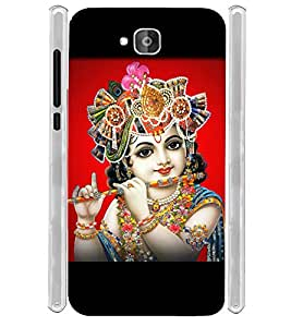 Lord Sri Krishna Mohana Soft Silicon Rubberized Back Case Cover for Huawei Honor Holly 2 Plus :: Honor Holly 2+