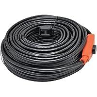 24m Cable térmico, para descongelado de tuberías, calefactor de tuberías