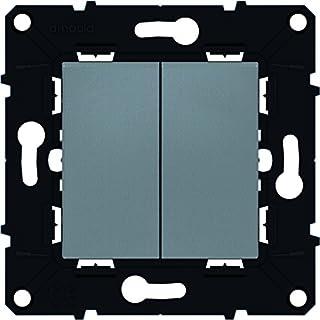 Arnould ARN51101 Doppelwechselschalter-Einsatz 10 A Raum Evolution Parts Magnesium