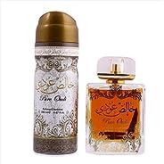Pure Oudi Gift Set (EDP 100ml, Deodorant 200ml)