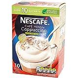 Nescafé Non Sucré Décaféiné Cappuccino 10 X 15G - Paquet de 6