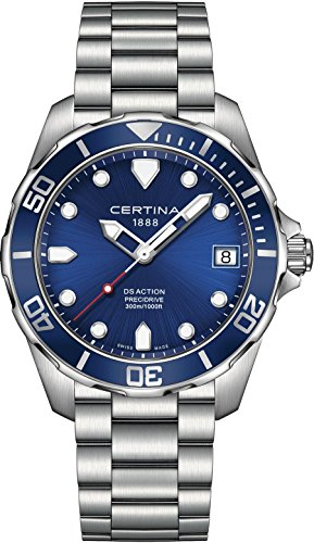 CERTINA DS-Action Herren-Armbanduhr 41MM Batterie C032.410.11.041.00