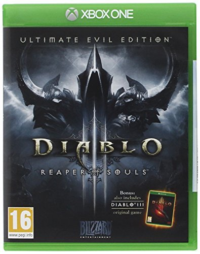 Blizzard Diablo III: Reaper of Souls - Ultimate Evil Edition, Xbox One - video games (Xbox One, Xbox One, Physical media, Action, Blizzard Entertainment) by Blizzard (Of Xbox Reaper Iii Diablo Souls)