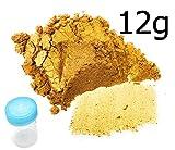 12 g color del polvo dorado Monstercolours + 1 tubo mezclador.