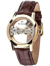 Yves Camani Unisex-Armbanduhr Analog Handaufzug YC1049-A