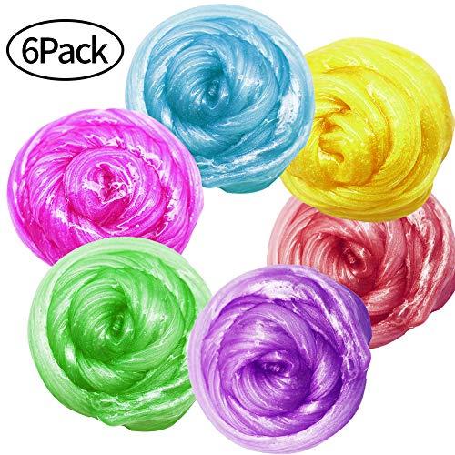 Pack Galaxy Schleim Kit Stress Relief DIY Spielzeug für Kinder Erwachsene ()