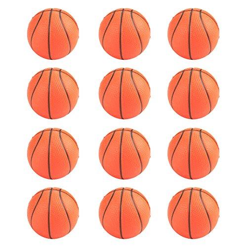 Gogo Tennis Stress Bälle/Hand Übungen Squeeze Bälle–12Stück Einheitsgröße Basketball