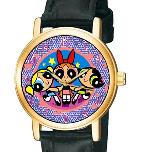 puissance-puff-filles-japonais-manga-miniature-de-collection-30-mm-montre-bracelet