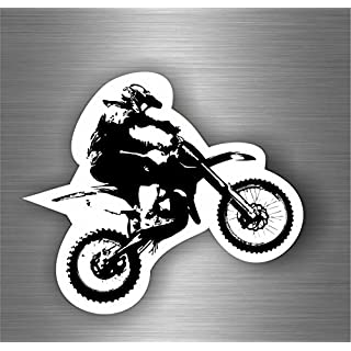 Self-Adhesive Sticker Motorcycle Biker Macbook Cross Motocross R3