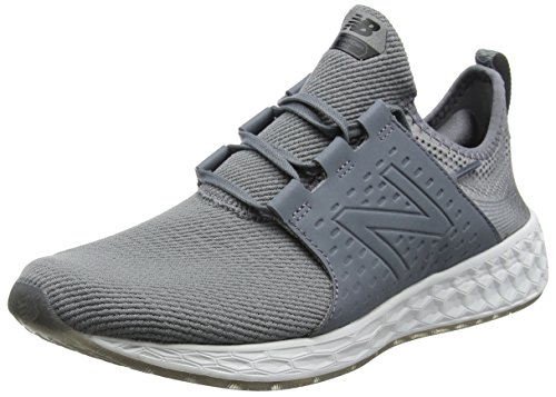 New Balance Fresh Foam Cruz Sport Pack Reflective, Herren Laufschuhe, Grau (Silver), 44 EU (9.5 UK)