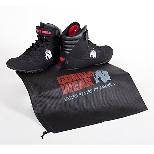 cime e alte Wear Nero Bodybuilding Gorilla rosso nero scarpe AIqYP