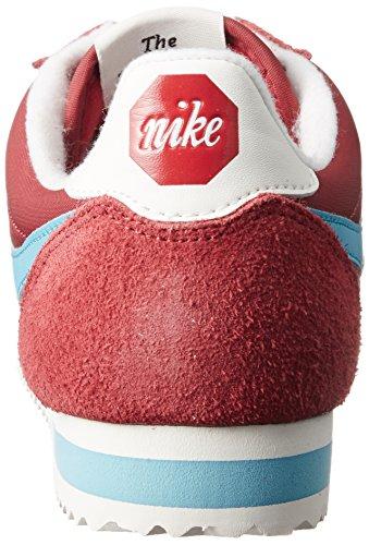 Nike Cortez Nylon Prem, Chaussures De Gymnastique Rouge Pour Hommes (rouge Varsity / Bleu Chlore / Voile)
