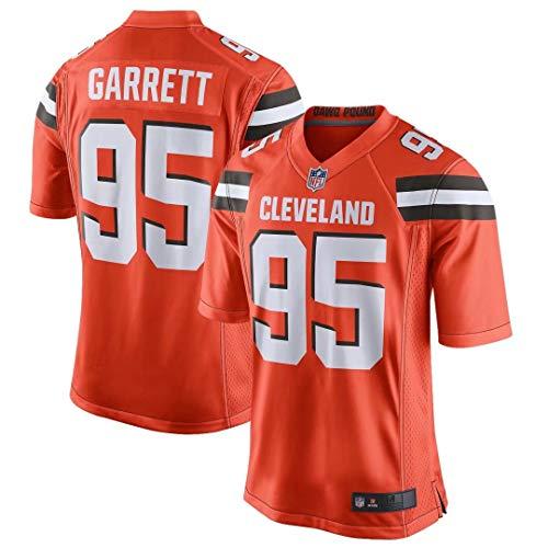 Outerstuff Herren Myles Garrett Cleveland Brauns Alternate Game Trikots #95-Orange