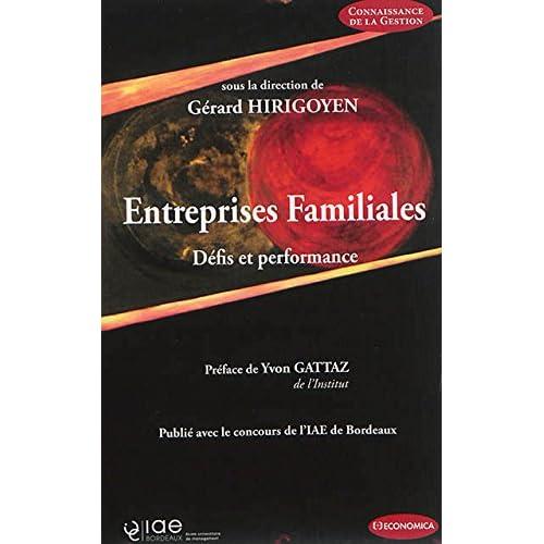 Entreprises Familiales - Défis et Performances