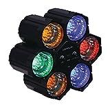 Lichtorgel mit Stimmungslampe 126 LED - Discospot Spot Strahler Multi Colour Effekt Effektstrahler Licht Lichteffekt Party Club