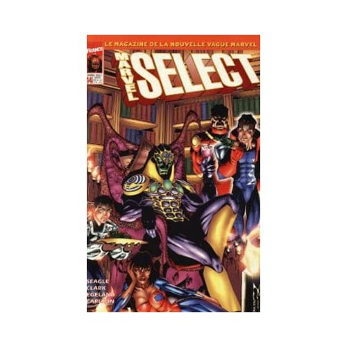 MARVEL SELECT N° 14 hypnose en série (AVRIL 1999)