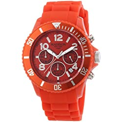 Madison New York Men's Quartz Watch CANDY TIME CHRONO U4362-11 with Plastic Strap
