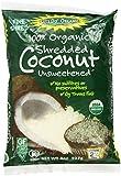 Organic Coconut, Unsweetened, 8 oz (227 g)