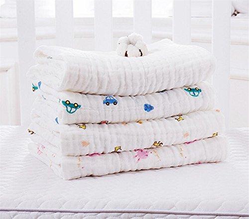 Paños muselina Toallas baño algodón bebé recién