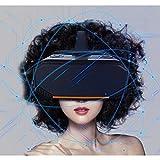 Mit Augenschutz VR-Kopfhörer 3D-Brille 360 HD-Anzeige Immersiv Virtuelle Realität Helm Videospiel-Controller Für Iphone 7 6 6S Plus, Nokia, Zoll Android Und Apple Smartphones PS4 Computer,Gamepadheadset