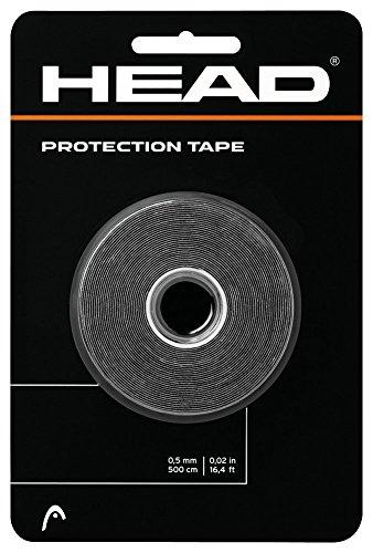 Head Protection Tape Kopfschutz Rahmenschutz Tennis Squash schwarz 5 m