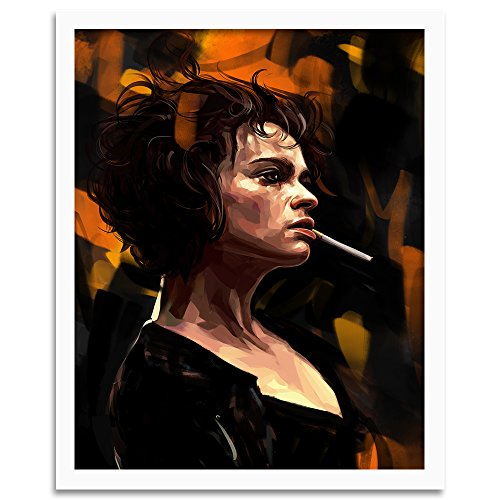 Feeby. Tableau encadré, Tableau Déco, Tableau Mural, Décoration Murale Image Imprimée, 1 Partie - 40x60 cm, Dmitry Belov - Film Brown