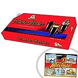 Halloren Schokobecher 12 Stück   INKL DDR Geschenkkarte   DDR Produkte  Ideal für jedes DDR Geschenkset   DDR Traditionsprodukt und Ossi Kultprodukt   DDR Artikel