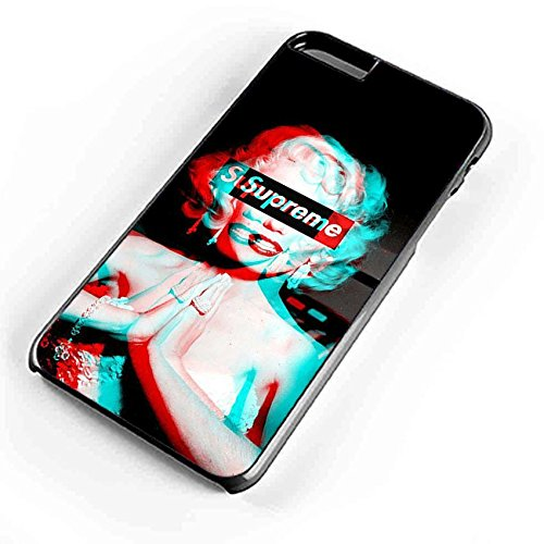 MARILYN MONROE Supreme blau rot 3D iPhone Fall-Samsung Galaxy Fall
