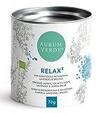 RELAX Bio Kräutertee mit Hopfen, Lavendel & Melisse | 70g von AURUM VERDE ®