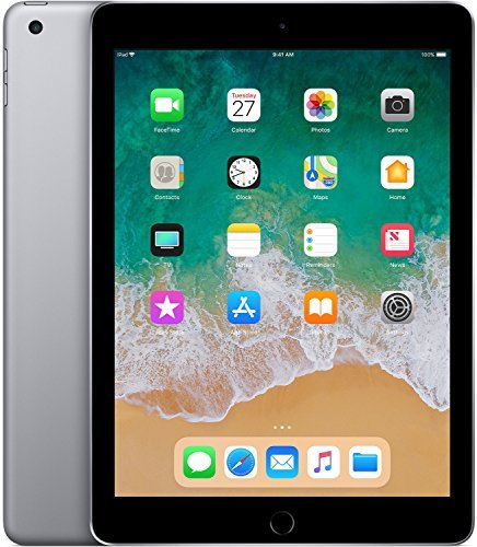 Apple iPad(6th Gen) Tablet (9.7 inch, 32GB, Wi-Fi + 4G LTE), Space Grey