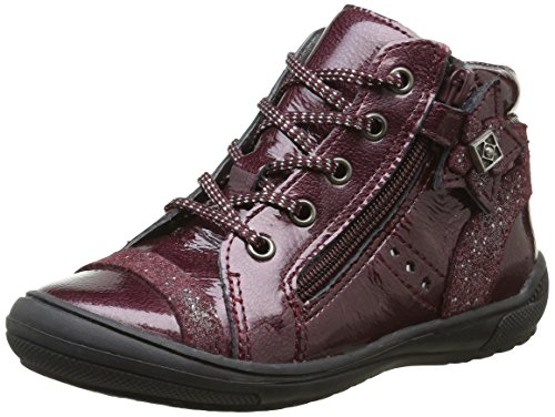 Babybotte Amaya, Sneakers fille Rouge (243 Bordeaux)