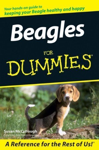 Beagles For Dummies by Susan McCullough (24-Nov-2006) Paperback