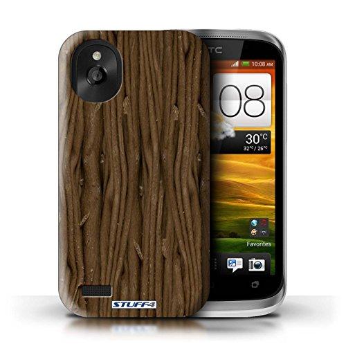Kobalt® Imprimé Etui / Coque pour HTC Desire X / Galaxy Vague Enveloppé conception / Série Chocolat Flake/Flocon