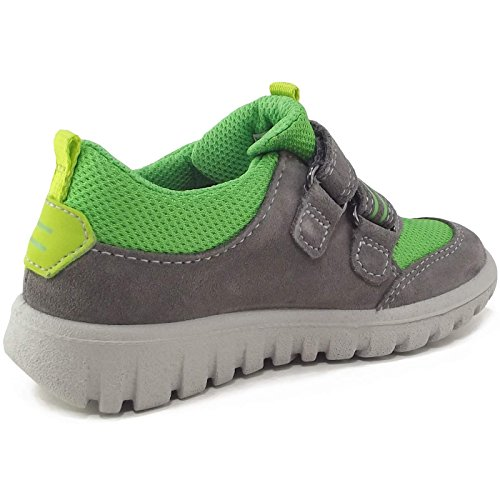 Superfit Gore-Tex Sport7 Mini, Baskets mode mixte enfant gris/lime (stone multi)