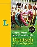 Langenscheidt Sprachkalender 2020 Deutsch als Fremdsprache - Abreißkalender -