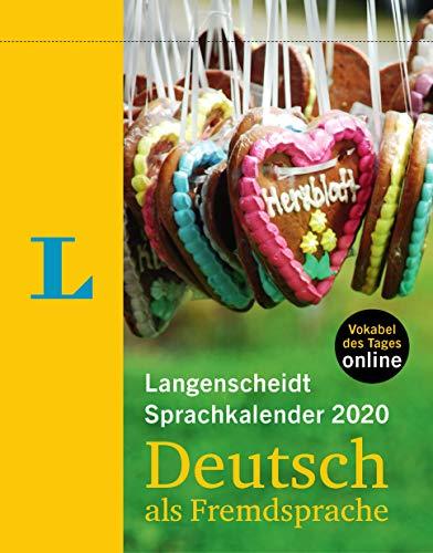 Langenscheidt Sprachkalender 2020 Deutsch als Fremdsprache - Abreißkalender