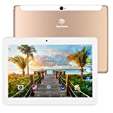 TOPSHOWS 4G Tablette Tactile,Android Tablette PC,10.1',4G Double Carte SIM,RAM 2Go,Stockage 32Go,Octa Core,WiFi Bluetooth,Or