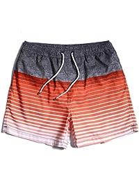 Hombre Shorts Baño Informal Vacaciones De Verano Playa Atletismo Men's Clothing