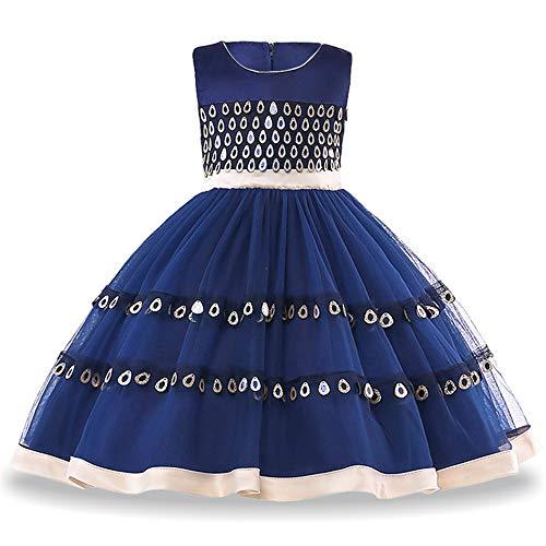 QSEFT Mädchen Abendkleider Elegante Kleinkind Mädchen Prinzessin Kleid Mädchen Party Kleider...