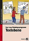 Das Lese-Trainingsprogramm: Textebene: 1. und 2. Klasse