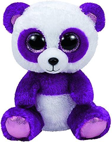 Carletto Ty 37088 - Boom Boom - Panda, mit Glitzeraugen, Glubschi's, Beanie Boo's, 24 cm,