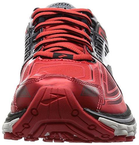 Brooks Herren Glycerin 13 M Laufschuhe mehrfarbig (High Risk Red/Black/Nightlife)